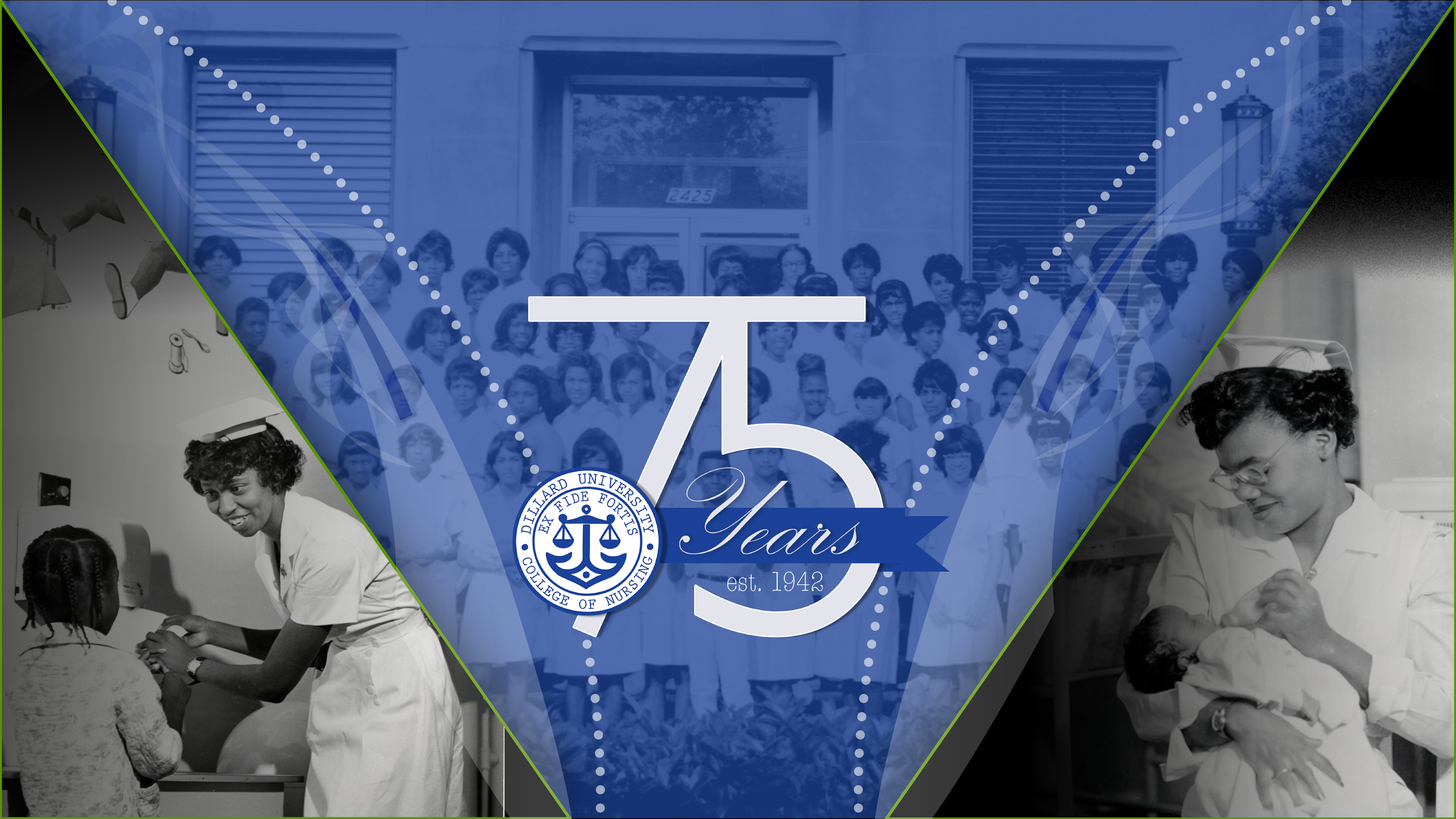 75 years of Nursing ad