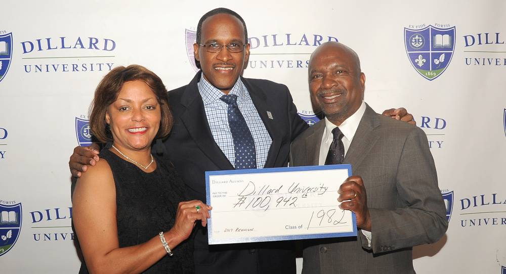 Alumus Michael Jones gives 100,942.16 to Dillard University